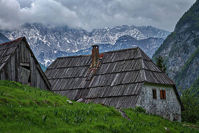 Photograph - House In The Pass - Slovenia by Stuart Litoff