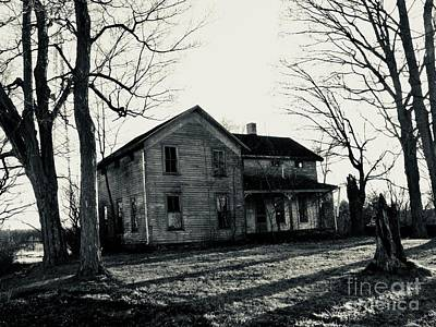 Photograph - House In The Woods by Michael Krek