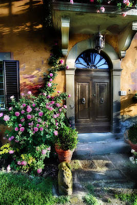 House In Tuscany Art Print by Al Hurley