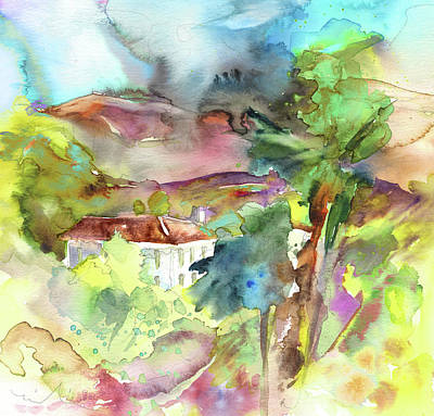 Painting - House In Tuscany by Miki De Goodaboom