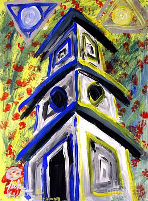 House Art Print by Luke Galutia