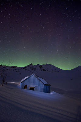 Independence Mine Photograph - House Of Blue by Ed Boudreau