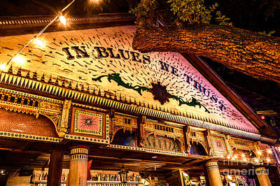 Photograph - House Of Blues #2 by David Smith