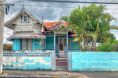 Photograph - House Of Blues, Trinidad by Nadia Sanowar