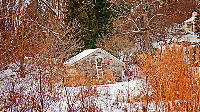 Photograph - House Of Christmas by Michael Porchik