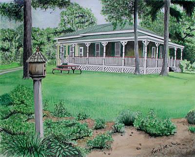 House Of David Art Print by Ferrel Cordle