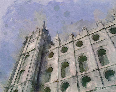 Lds Painting - House Of Faith by Greg Collins