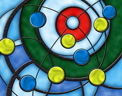 House Of Glass Art Print by Chris Rhynas