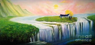 Painting - House Of Hopes by David Kacey