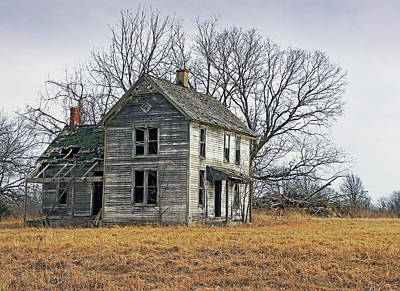 Photograph - House Of Kansas Past by Christopher McKenzie