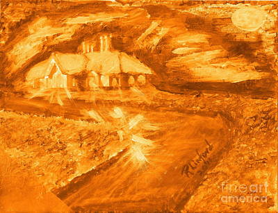 Painting - House Of Light 1 by Richard W Linford