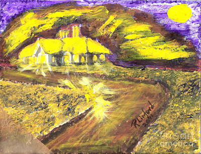 Painting - House Of Light 5 by Richard W Linford