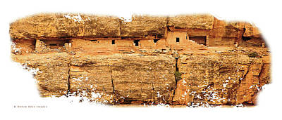 Ancient Ruins Photograph - House Of Many Windows Borderless by David Ross