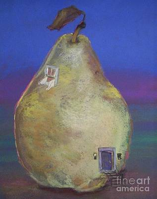Pastel - House Of Pears by Robin Maria Pedrero