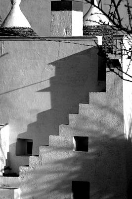 Photograph - House Of Shadows by Jez C Self
