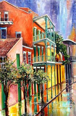 New Orleans House Wall Art - Painting - House Of The Rising Sun by Diane Millsap