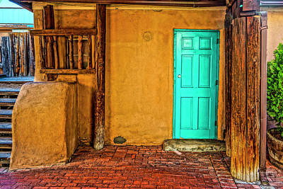 Photograph - House Old Town Albuquerque Dsc08183 by Greg Kluempers