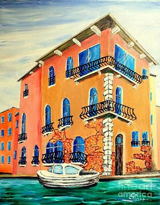 Most Popular Painting - House On A Canal by Irving Starr