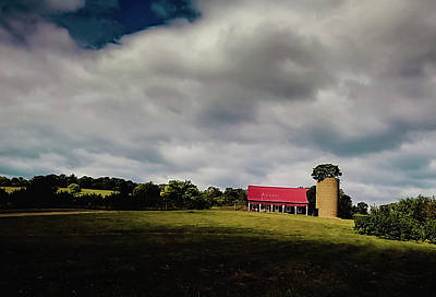 Photograph - House On A Hill by Carlee Ojeda