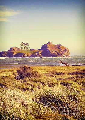 Photograph - House On An Island by Jill Battaglia