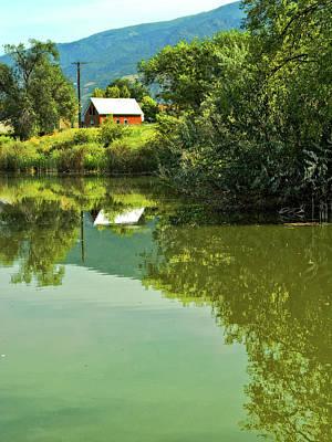 Photograph - House On Barton Pond by David King