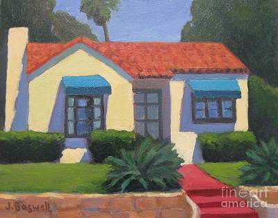 House On Cota Art Print by Jennifer Boswell