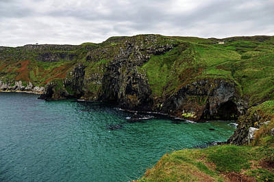 Photograph - House On The Antrim Coast by Bill Jordan