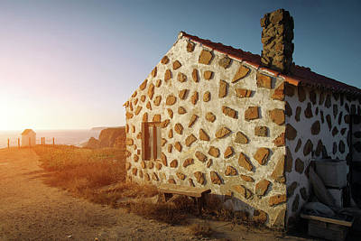 Alentejo Photograph - House On The Cliff by Carlos Caetano
