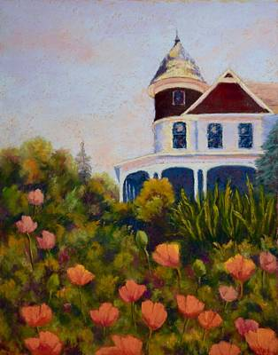 Painting - House On The Hill by Nancy Jolley