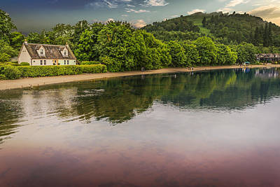 Photograph - House On The Lake by Bill Howard