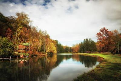 Photograph - House On The Lake II by Tom Mc Nemar