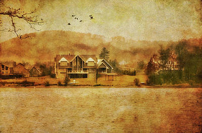 Photograph - House On The Lake by Reynaldo Williams