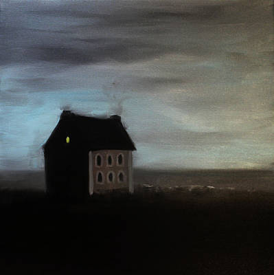Painting - House On The Praerie by Tone Aanderaa