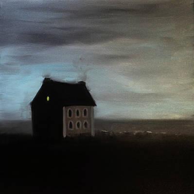 Painting - House On The Praerie by Tone Aanderaa