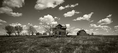 House On The Prairie Art Print by Patrick Ziegler