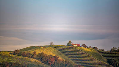 Photograph - House On Top Of The Hill by Davorin Mance