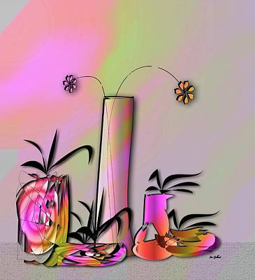 Digital Art - House Plant #1 by Iris Gelbart