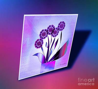 Digital Art - House Plant #7 by Iris Gelbart
