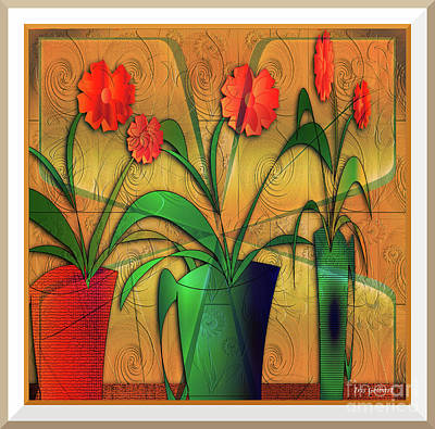 Digital Art - House Plants #111 by Iris Gelbart