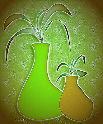 Digital Art - House Plants 233 by Iris Gelbart