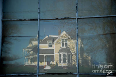 Photograph - House Reflections  by Alana Ranney
