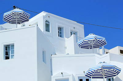 Photograph - House, Santorini, Greece by Elenarts - Elena Duvernay photo