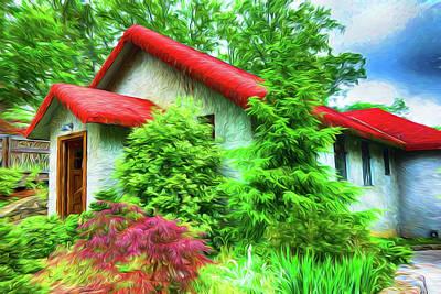 Photograph - House Series Y5113 by Carlos Diaz