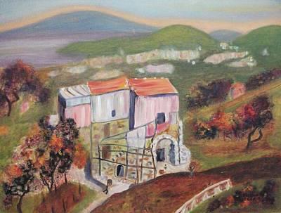 House Sorento Italy Art Print