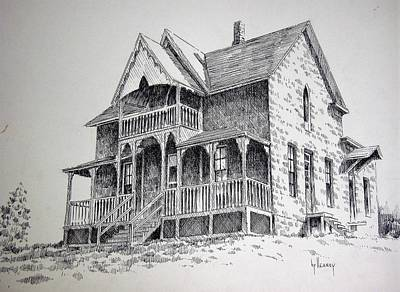 Photograph - House Virginia City Montana by Kevin Heaney