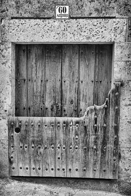 Photograph - House With Batipuerta In Candelario. by Pablo Lopez