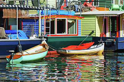 Photograph - Houseboats 4 - Lake Union - Seattle by Nikolyn McDonald