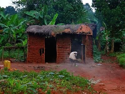 Exploramum Photograph - Housecleaning Africa Style by Exploramum Exploramum