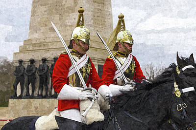 Photograph - Household Cavalry Changing Of The Guard Art by David Pyatt