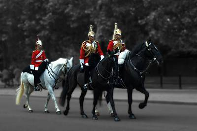 Photograph - Household Cavalry by Chris Day